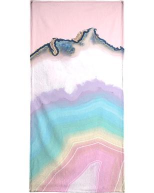 Rainbow Agate handdoek