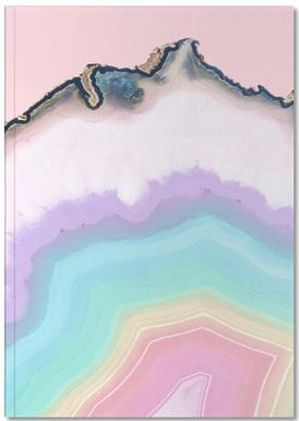 Rainbow Agate Notebook