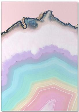 Rainbow Agate Notepad
