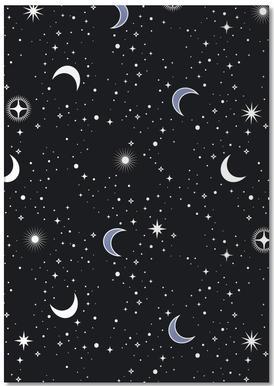 Stars Holiday Notepad