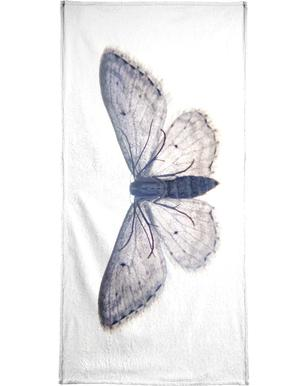 Butterfly in Blue handdoek