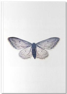 Butterfly in Blue Notebook
