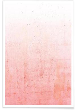 Pink Ombre - Premium poster