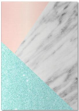 Spring Marble Collage