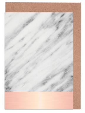 Carrara Marble Pink Edition Greeting Card Set