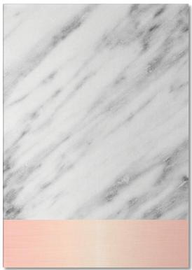 Carrara Marble Pink Edition -Notizblock