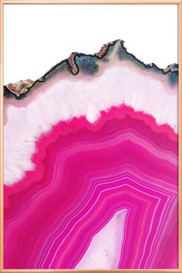 Pink Agate Slice