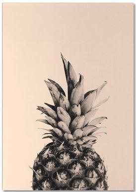 Pink Pineapple -Notizblock