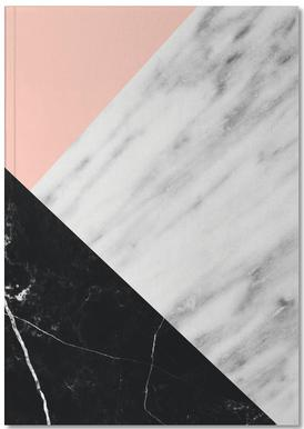 Marble Collage Notebook