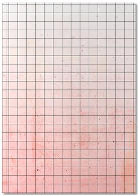 Sweet Pink Geometry Notebook