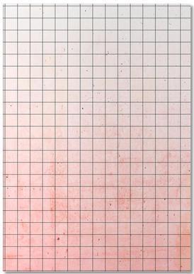 Sweet Pink Geometry notitieblok