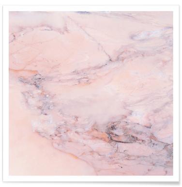 Blush Marble poster
