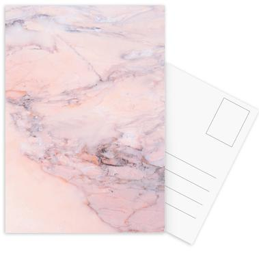 Blush Marble cartes postales