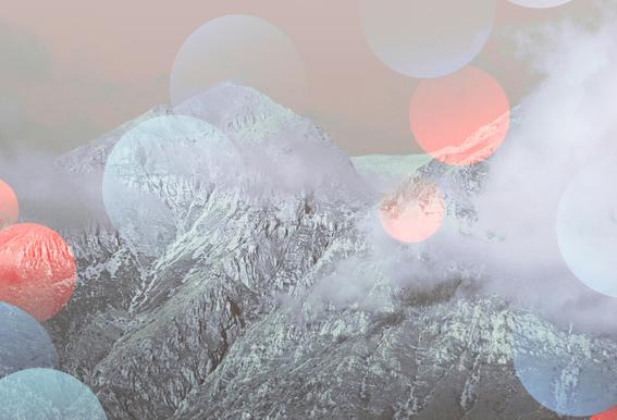 Bokeh Lights Impression sur alu-Dibond