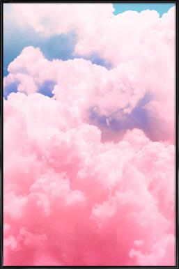 Candy Sky - Poster in Standard Frame