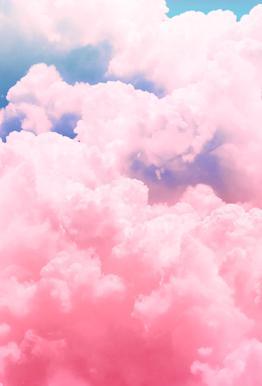Candy Sky Impression sur alu-Dibond