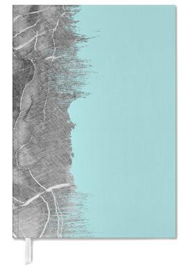 Crayon Marble and Sea Prints agenda