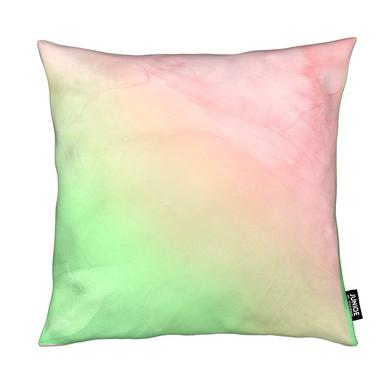 Greenely and Rose Quartz Prints coussin