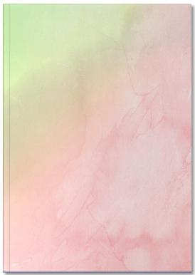 Greenely and Rose Quartz Prints carnet de notes