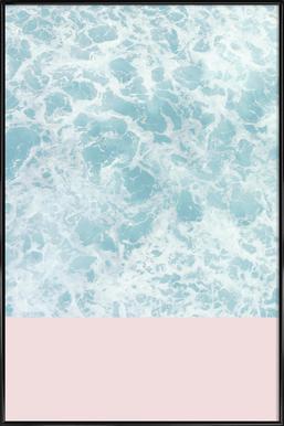 Pink on the Sea ingelijste poster
