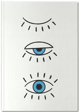 Summer Evil Eye Notebook