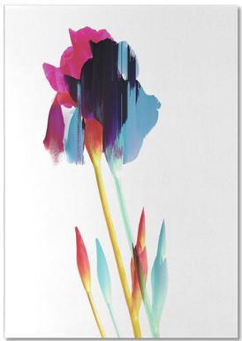 Glitched Iris -Notizblock