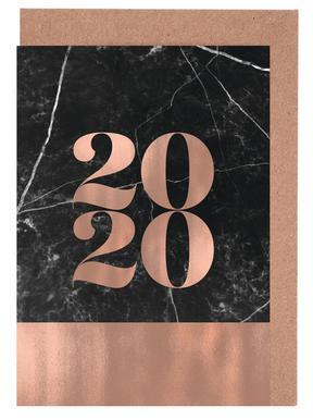 2019 Black Marble Edition wenskaartenset