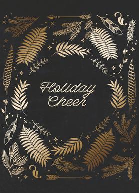 Holiday Cheer -Leinwandbild