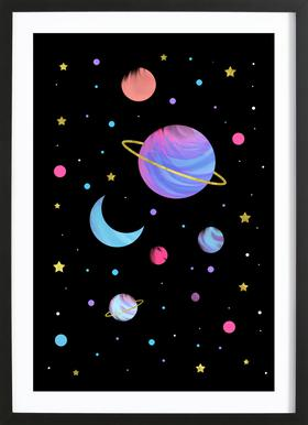 Great Universe Framed Print
