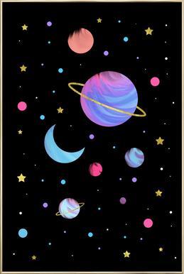 Great Universe poster in aluminium lijst