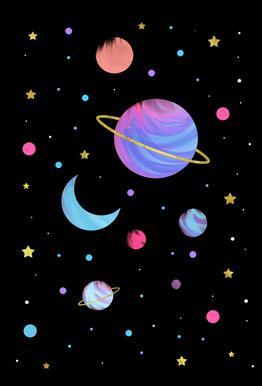 Great Universe acrylglas print