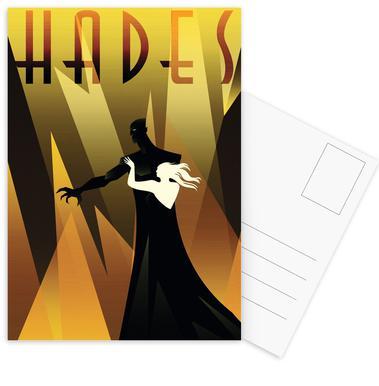 Hades -Postkartenset