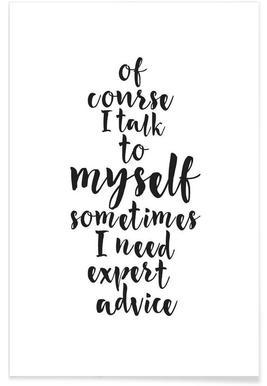 Expert advice Poster