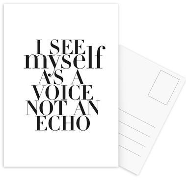 Echo Postcard Set