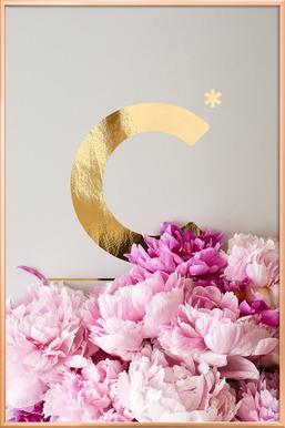Flower Alphabet C