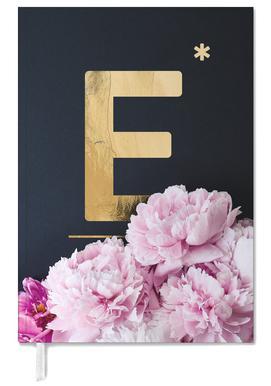 Flower Alphabet E Personal Planner