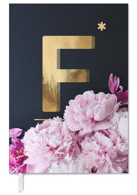 Flower Alphabet F Personal Planner