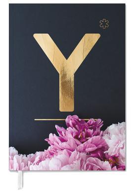 Flower Alphabet Y -Terminplaner