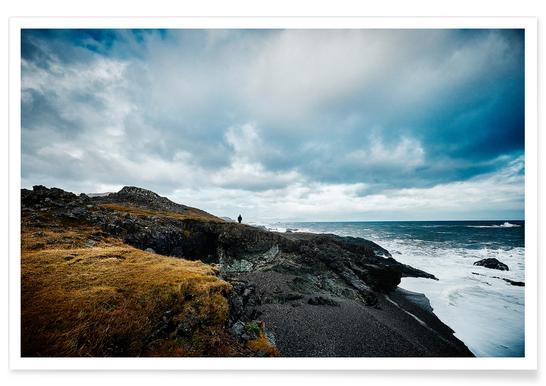 Islands Küste III Poster