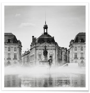 Place de la Bourse - Premium poster