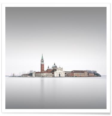 Venezia - San Giorgio Maggiore Poster