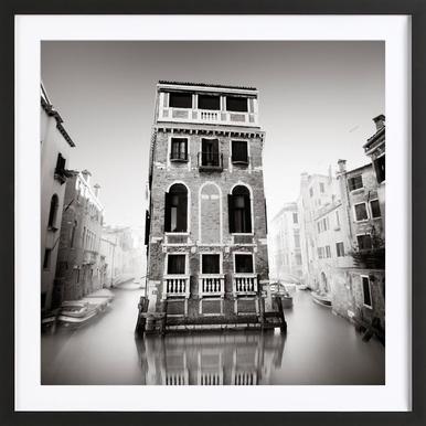 Palazzo Tetta - Affiche sous cadre en bois