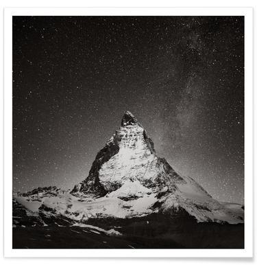 Schwiiz - Matterhorn Study 2 poster