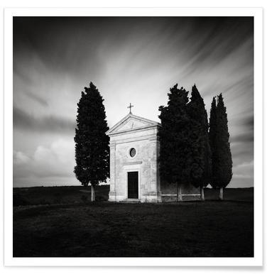 Italy - Cappella Della Madonna Di Vitaleta Poster