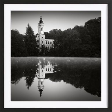 Brandenburg Dammsmühle Castle -Bild mit Holzrahmen
