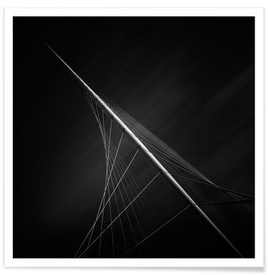 Santiago Calatrava Calatravabruggen Poster