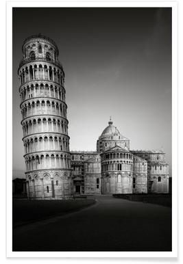 Tuscany Torre De Pisa Poster