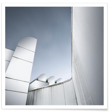 Berlin - Bauhaus Archive -Poster