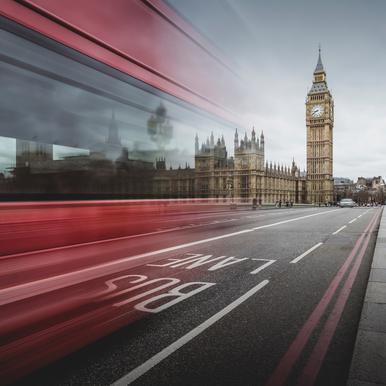 London - Big Ben -Acrylglasbild