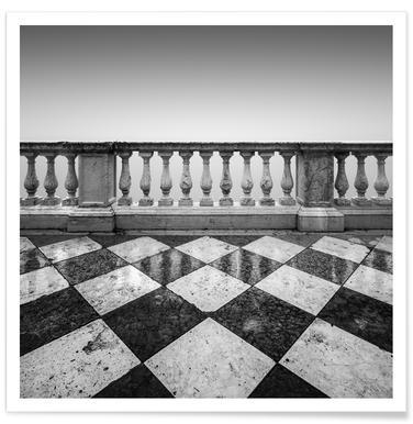 Venezia - Terrazzo - Premium Poster